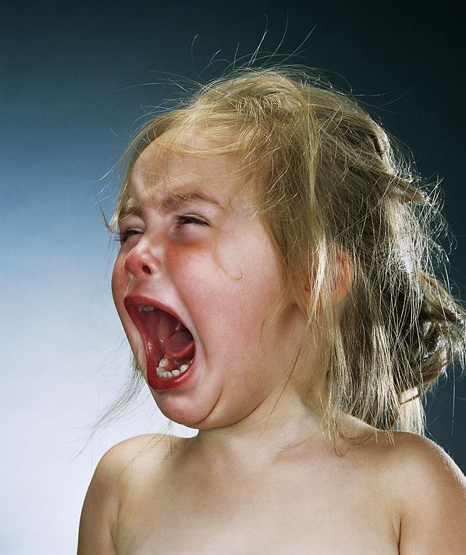 Mon enfant pleure