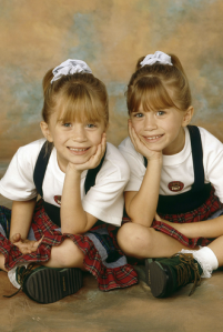 Les soeurs Olsen ou deux York (ça dépend dans quel sens on regarde)